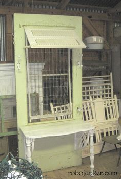 diy old door projects   DOORS & WINDOWS / DIY Craft Projects using Old Vintage Windows Doors