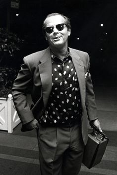 Jack Nicholson leaving the Carlyle Hotel. - ELLE.com