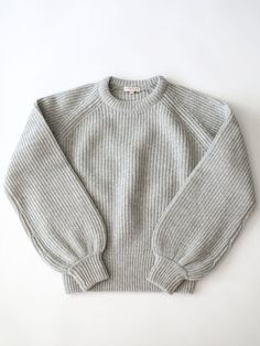Demylee - Carina Sweater - Light Heather Grey