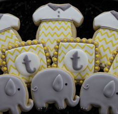 Baby Shower Cookies Baby Shower Favors von 4theloveofcookies