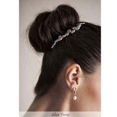Moño de novia, recogido de novia, peinado de novia, bridal comb, bridal backcomb, wedding style, hairstyle,