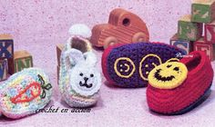 *Free Crochet Patterns:  Child Slippers