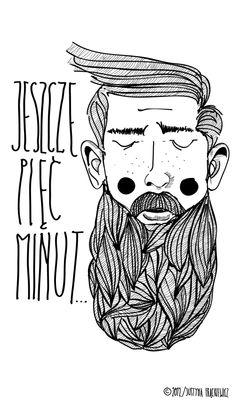 Jeszcze pięć minut Art Print