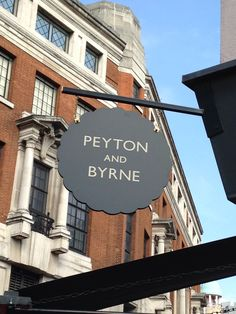 Peyton and Byrne sign