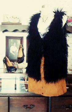 Fur Coat, Jackets, Fashion, Seasons, Down Jackets, Moda, Fashion Styles, Jacket, Fashion Illustrations
