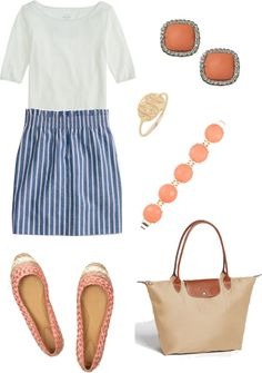 """""""Casual skirt"""" by justinebettag on Polyvore"""