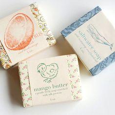 Saipua Soap. I adore pretty soap. Want to learn to make goat milk soap.