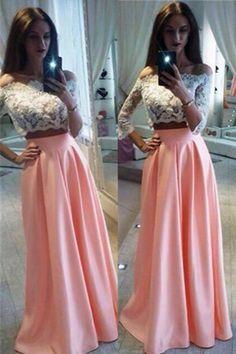 0dedd23746 77 Best two piece prom dress images