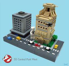 Lego Mocs Micro ~ 55 Central Park West | by 2 Much Caffeine