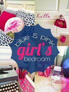 blue girls bedrooms on pinterest