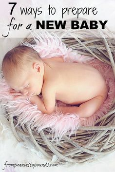 7 Ways to Prepare For a New Baby. Read my tips for how best to financially prepare for your little bundle of joy!  http://www.frompenniestopounds.com/?p=143