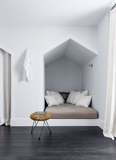 recessed bed | #nook