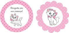 Mini Kit Personalizado Gatinha Marie para imprimir - Dicas pra Mamãe