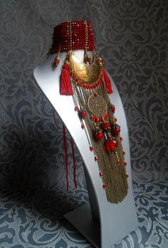 Bijoux Véronique Jeantet Queen Puabi - Choker