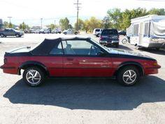 My first car. Pontiac Sunbird. Mine was blue. at http://www.windblox.com/ #windscreen #winddeflector #pontiacSundird
