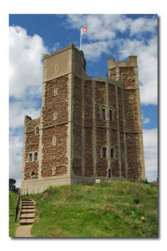Orford Castle ~ Suffolk England  Lovely coastal village.  Smokehouse for delicious fish, great pub.