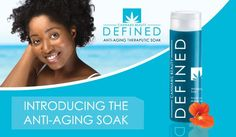 The Defined Anti-Aging Therapeutic Soak is an uplifting blend of natural and organic botanicals which includes revitalizing and detoxifying herbs that work harmoniously with ^CBD Oil for smooth , refreshing skin. Soak is formulated without parabens, sulfates, phthalates, dyes and synthetic fragrances. #antiaging #skincare #cbd  Are you a retail establishment? Visit the site to find out how to offer this line of CBD rich products to your customers