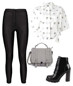 """""""Outfit for school ♥ / Look escola ♥ / Icarly / Victorius / Pretty little liars / Aria montgomery / Tori Vega  / Soy Luna / ♥"""" by camibg on Polyvore featuring Victoria Beckham, Boohoo and Jeffrey Campbell"""