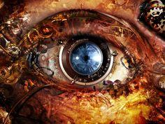 Arte Biomecânica - Olho