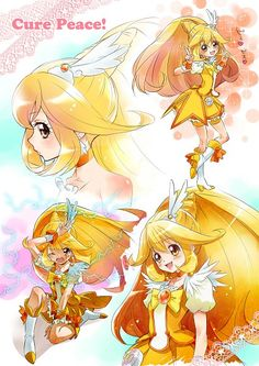 Glitter Lucky, Manga Anime, Anime Art, Smile Pretty Cure, Futari Wa Pretty Cure, Anime Toys, Glitter Force, Anime Music, Girls Series