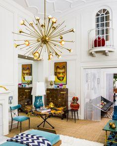 Jonathan Adler and Simon Doonan's amazing NYC apartment! @Lonny Kronen Kronen Kronen Kronen Magazine