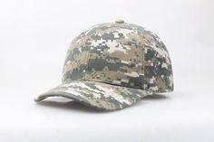 Camouflage Cap Casquette Camouflage Hats For Men Army Camo Baseball Cap Women Blank Desert Camo Hat Wholesale