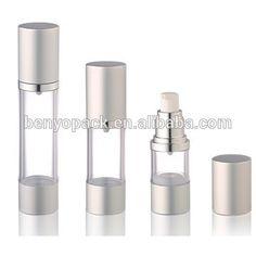 airles verpakking | Luxe glazen airless pomp fles, luxe cosmetische verpakkingen, warm te ...