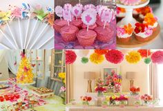 floral theme | Bookeventz | #birthday #girls #theme #floral #party