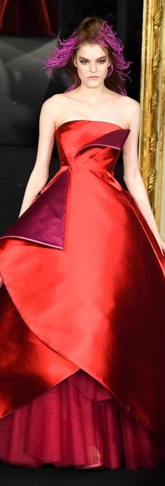 Alexis Mabille: paris-haute-couture-week-best-looks Couture Week, Haute Couture Gowns, Style Couture, Spring Couture, Haute Couture Fashion, Alexis Mabille, Fashion Week, Runway Fashion, Fashion Show