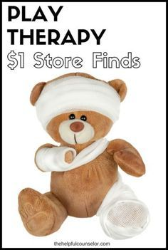 Find tons of play therapy materials at the dollar store!