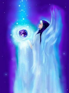 Mother Earth Light Angel