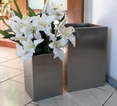 88-9006 Stainless Steel Planters available now from only $105.00