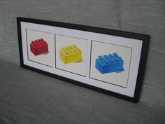 Lego art for nursery