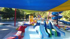 Let the kids cool down in our water park and any of our three pools while you kick back and relax! Holiday Park, Beautiful Landscapes, Pools, Relax, Australia, Water, Kids, Travel, Gripe Water