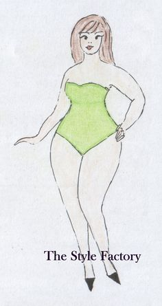 Body Type A (pear) Plus Size // thestylefactory.pl //