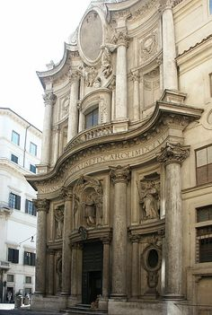 One of my favourite buildings. San Carlo alle Quattro Fontane designed by Borromini. Rome, Italy.