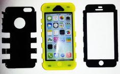 SALE!! - 12% OFF - LIMITED TIME! FREE SHIPPING! First Come - First Served - Grab yours today!  New iPhone 5c 5g Hybrid 3 in 1 Case Soft Silicone Shockproof Many Colors | eBay