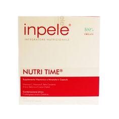 Ada Tina Inpele Nutri Age é uma suplementação alimentar antiidade que repõe as principais vitaminas e minerais essenciais para as células do organismo, inclusive para as células da pele. Reduz a formação de sinais de expressão e desempenha ação antioxidante.