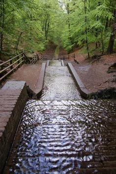 Watervallen, Loenen, Gelderland, Netherlands
