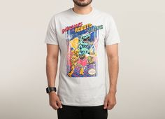 """Dinosaurs vs. Robots vs. Aliens"" - Threadless.com - Best t-shirts in the world"