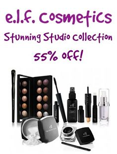 e.l.f. Cosmetics ~ 55% off the Stunning Studio Collection! {6/6 only}