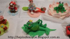 Cupcakes con figuritas de fondant:)Las figurs grandes están rellenas de sugus:)