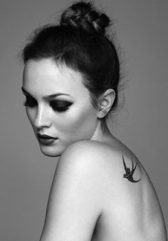 leighton meester tatouage marie claire
