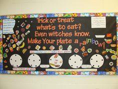 halloween bulletin board ideas   Submitted by Jill Garneau who teaches at Prairieland Elementaryin ...