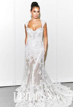 Lace Wedding Dresses from the Bridal Runways | Wedding Dresses | Brides.com : Brides.com