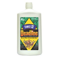Deadline Forceii Slug and Snail Killer Granules - About DeadlineDeadline Slug & Snail products are one last meal for slugs and snails. The Raintough pellets are not affected by rain and provide up to ...