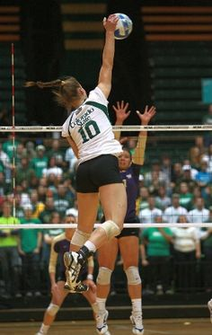 CSU Volleyball - isn't the photo they used in the ad @ DIA?