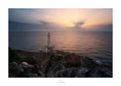 Faro di punta palascia, Otranto. Ph Angelo Scardigno. Celestial, Sunset, Digital, Beach, Water, Ph, Outdoor, Fotografia, Light House