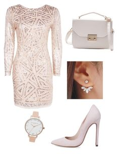 """""""Soft pink"""" by silke266 ❤ liked on Polyvore featuring Boohoo and Olivia Burton"""