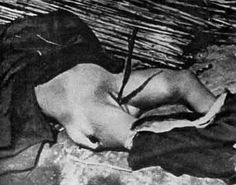 The Rape of Nanking by the japanese forces. The women were often killed immediately after being raped, often through explicit mutilation or by stabbing a bayonet, long stick of bamboo, or other objects into the vagina. Young children were not exempt from these atrocities, and were cut open to allow Japanese soldiers to rape them.